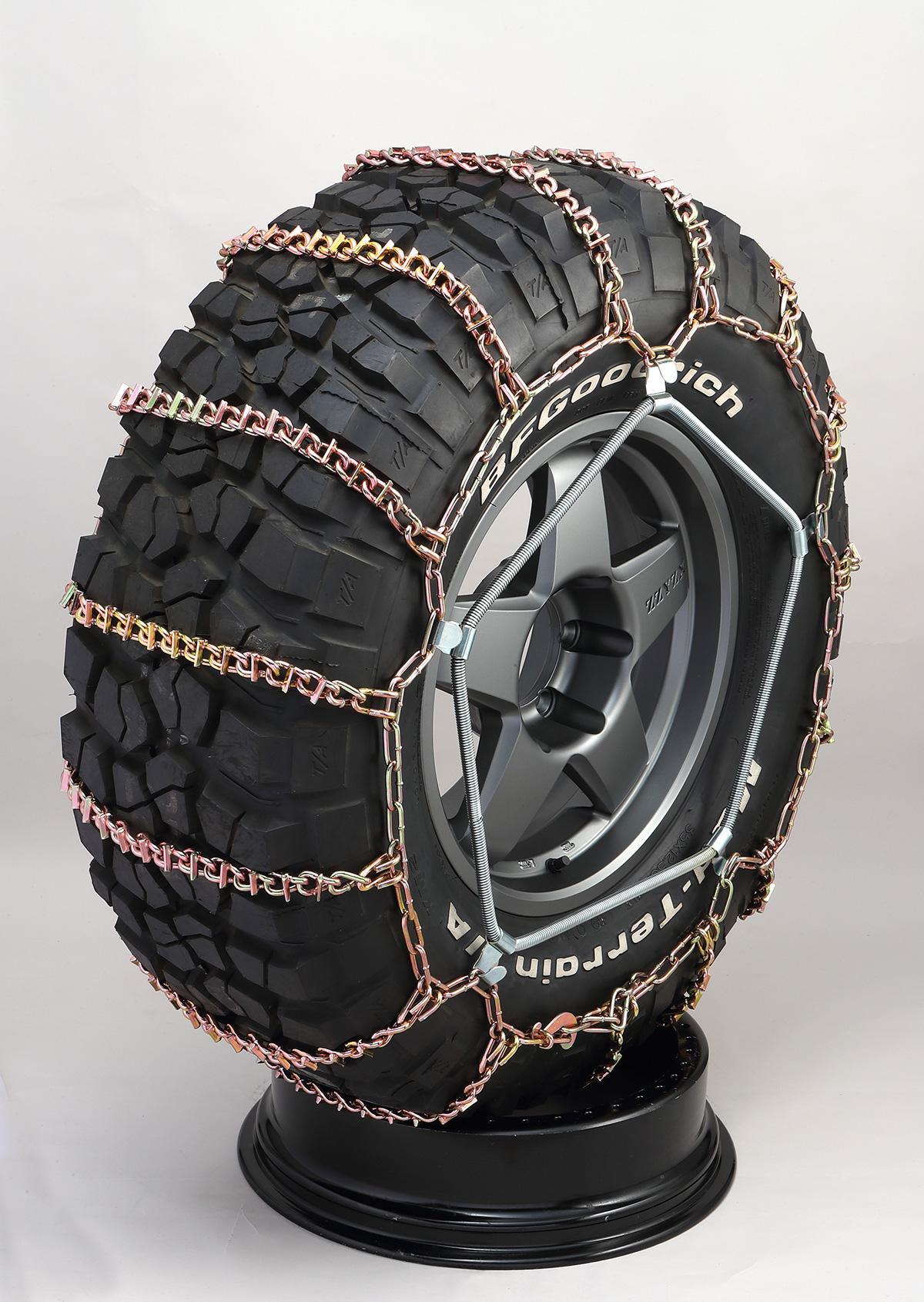 ラグナオフロードチェーンRG スパイク付ラダー型タイヤチェーン